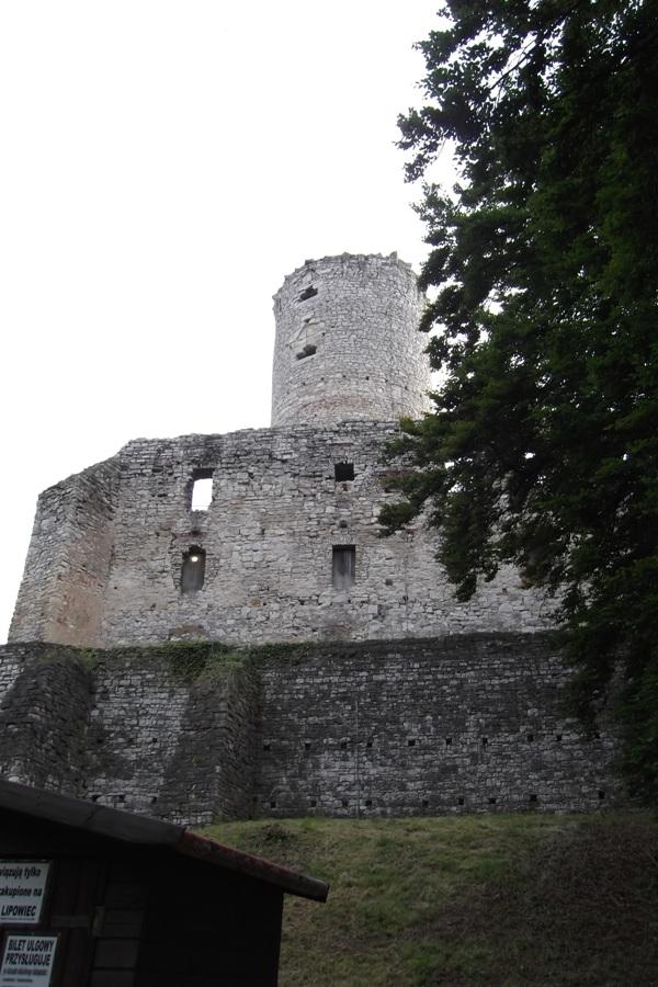 Ruiny zamku Lipowiec Foto Robert Kmieć